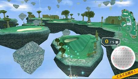 ファンタジーな世界でゴルフ!