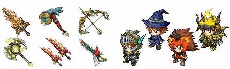 様々な武具の生成を行おう!