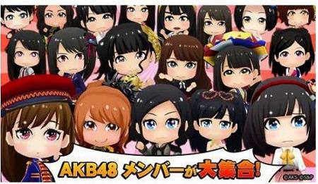AKB48メンバーとAKB48の曲にあわせて踊ろう!