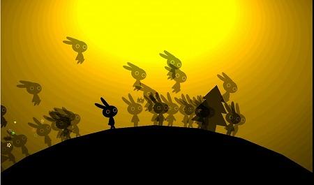 他プレイヤーと影絵の世界を走り回れ!他プレイヤーと影絵の世界を走り回れ!