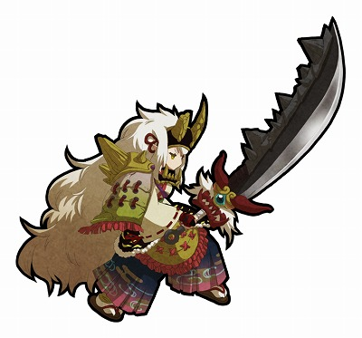 光属性の剣ユニット。武器と鎧が特徴的。