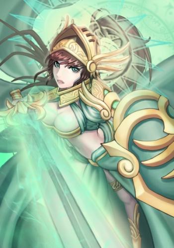 先陣の女騎士ミネルヴァ