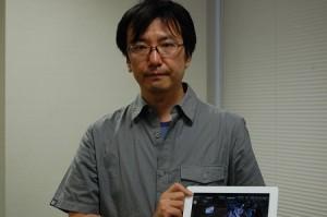 ディレクターを務めた吉田卓史氏。