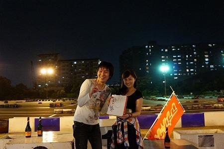 大会MVPと藤川さん。