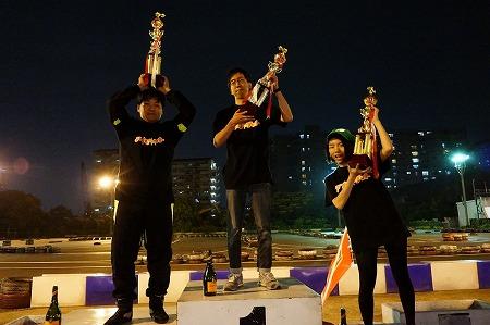 1位~3位のチームリーダーが表彰台に!