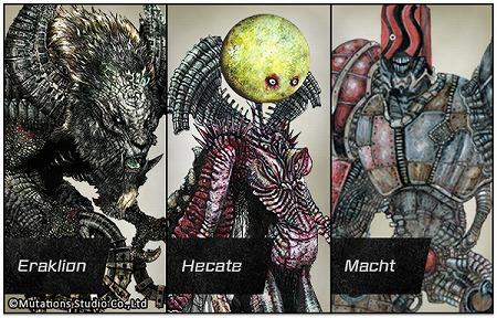 数多くの魅力的な巨人が登場。