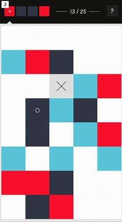 デザインや色使いがフラットなパズル!