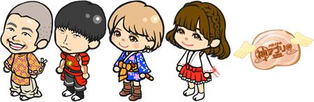 「神アプリ @隆盛紀-ONLINE-」メンバーがラーメン魂に登場!