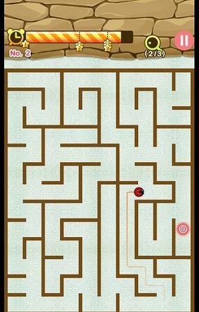 世界中の人々と1vs1のマルチプレイが可能な迷路ゲーム!