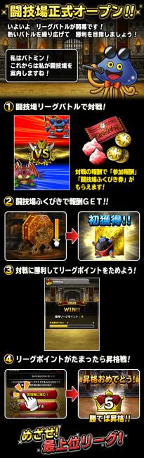 闘技場正式オープン!