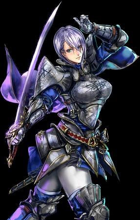 灰白の騎士カデッサ  騎士 SR★★★★