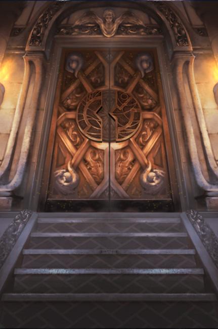 この門を開けてオレは強くなるんだ!キメたんだ!