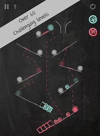ビー玉を正しく運ぶパズルゲーム!