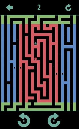 重力を傾けてゴールを目指すアクションパズル迷路で脳トレ!