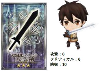 トシマの剣。
