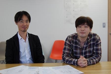 プロデューサーの中川尚人氏とProject-7th総監督の茂木伸太郎氏