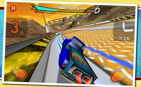 おもちゃ感のあるレーシングゲーム!