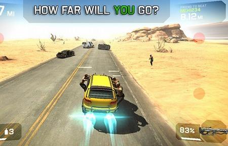 車、銃、そしてゾンビ・・!