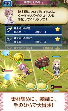 アトリエシリーズのキャラクターたちが、ボードの上で大冒険!