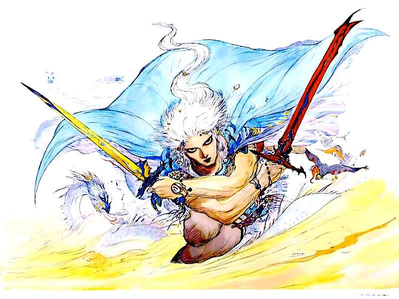 ところでこの人って誰なんだろ。FF3の主人公なのかな? ©SQUARE ENIX Final Fantasy III
