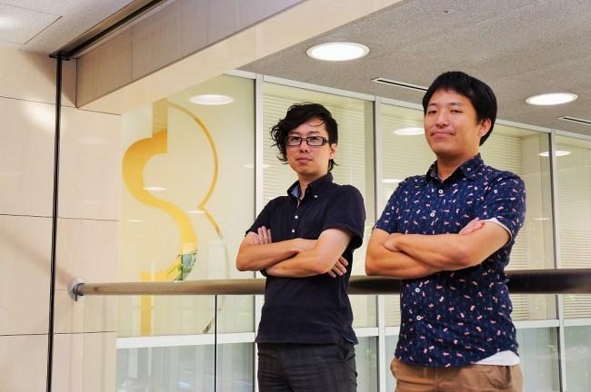 左からプロデューサーの亀井氏とディレクターの島林氏