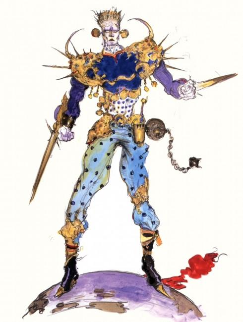 後々でてくる「マジックマスター」とグラフィック一緒かな?これは天野喜孝のイラスト。 ©Final FantasyVI 1994 SQUARE ENIX
