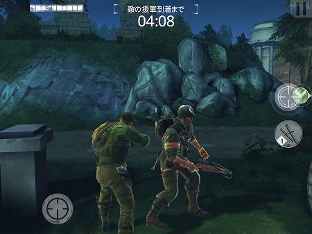 暗闇の中での狙撃は、いつもとは違った緊張感が出る・・!