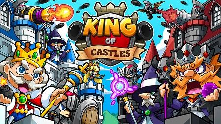 『キング・オブ・キャッスル』(Android/iOS)本日配信。