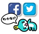 FacebookやTwitterで友達に聞くことができる。