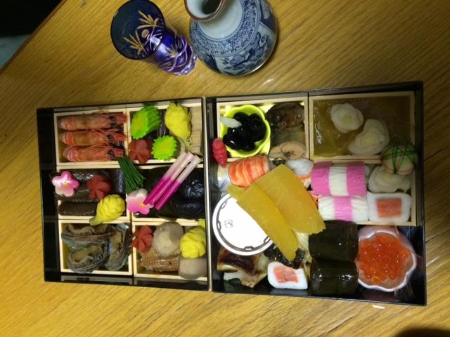 年末はおせちに日本酒!最高(はーと)