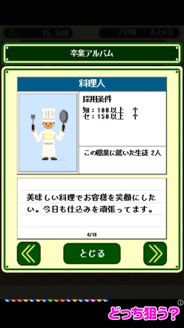 卒業~3年D組~ 料理人