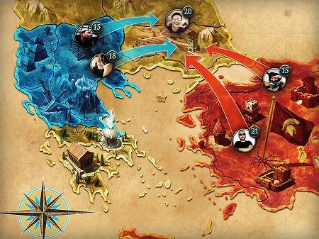 他プレイヤーと同盟を組み敵国を侵略することも可能!