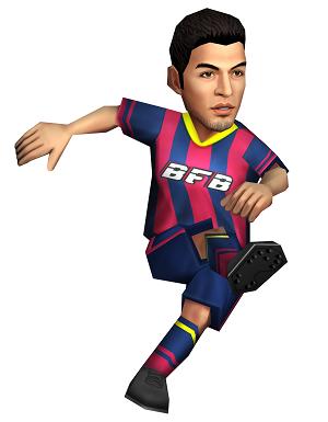 「[I]L・スアレス」選手イメージ。