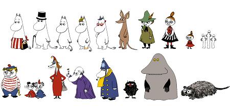主要キャラクターが全員登場