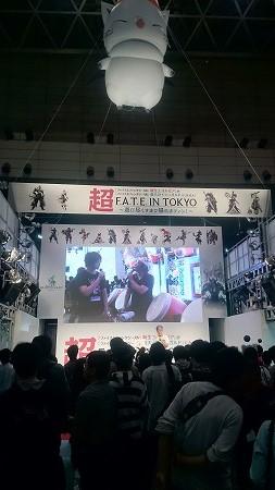 スクエニブースでは、「FFXIV」イベントや「太鼓の達人」大会も。