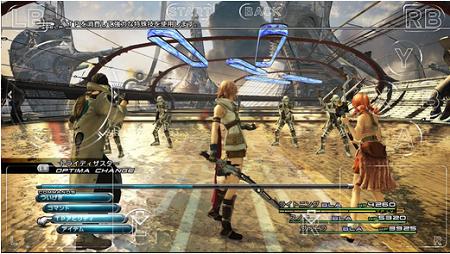 ゲームプレイ画面イメージ。