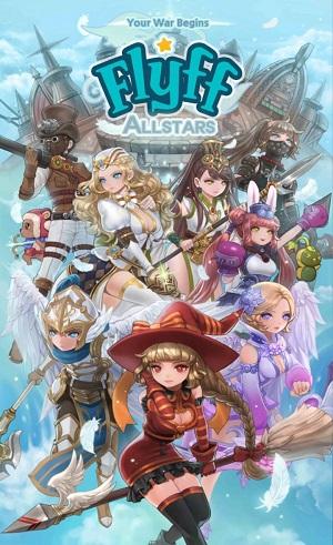 「Flyff All Stars」日本語版、事前登録開始!