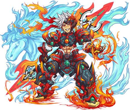 燃える闘剣 アレス