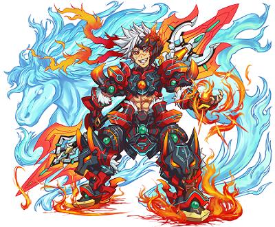 燃える闘剣 アレス。