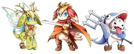 キャラクターイメージ。