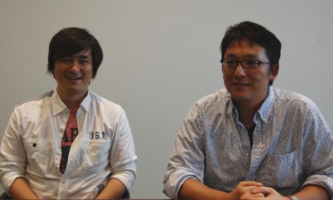 左から、ディレクターの林氏とプロデューサーの瓜生氏