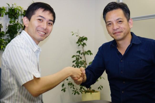 鎌田氏と北村氏
