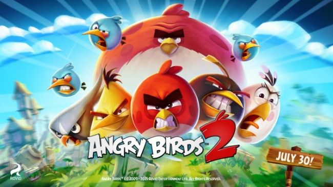『Angry Birds 2』が7月30日リリース決定!