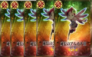 成長のアルカナⅢ(戦士×5枚)