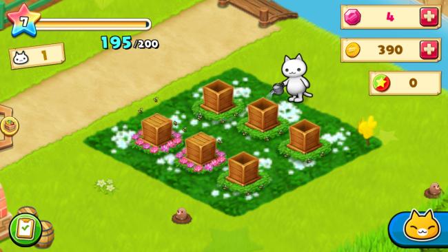ハチ箱を6つまで設置できる。