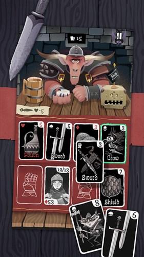 シンプルだが奥の深いカードゲーム。