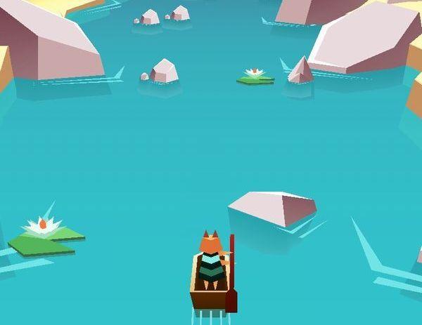 見た目に反してハードすぎるよ!単純操作で、難易度「鬼畜」な川下りアクションゲーム!!