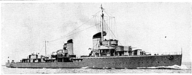 画像出典:https://ja.wikipedia.org/wiki/レーベレヒト・マース_(駆逐艦)
