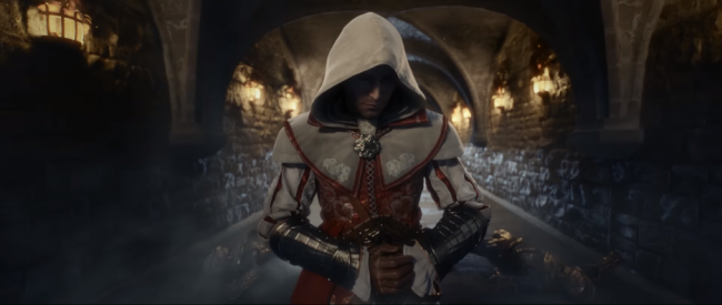 Assassin's Creed Identity Announce Trailer より。