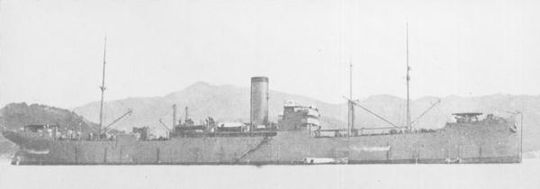 IJN_supply_ship_MAMIYA_around_1930